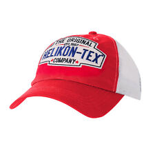 Helikon Tex Trucker Old School Logo Gorra - Cotton Twill - Rojo Gorra