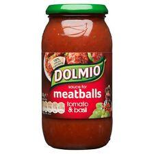 Dolmio Meatball Sauce Tomato & Basil- 500g -Single Jar(500g x 1 Jar)
