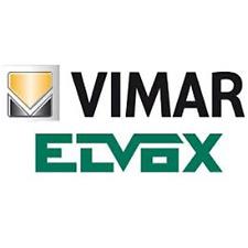 VIMAR EIKON PLACCA ROUND 3M INOX NATURALE SPAZZ.