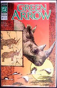Green Arrow Vol. 2 #47; Grading: VF+/NM-