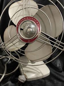 Vintage Morphy Richards Desk Top Fan Working - Needs Minor Repair