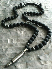 Anhänger Patrone AK-47 Halskette Onyx Edelstein Herren Schmuck Necklace pendant