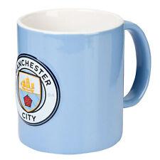 Manchester City 3D Crest 11oz Mug Home Office Coffe Tea Football Sports