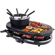 Raclette mit Grill und Fondue für 8 Personen Kontaktgrill