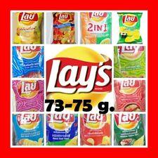 73-75 g. Lay's MANY Flavor Potato Chips Snacks Useful Travel Lays Thai Free Ship