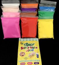 Air Dry Clay Super Light 12 Colours Brand New & Sealed Crafts Fun high quality