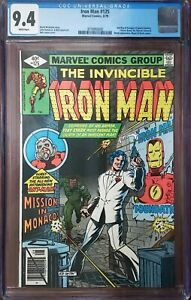 Iron Man 125 CGC 9.4 Ant-Man Marvel 1979