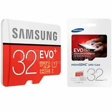 Genuine Samsung EVO Plus 32GB Micro SD SDHC Class10 80MB/s Card Memory Card