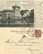 G278-SESTO FIORENTINO, VILLA CORSI-SALVIATI, GIARDINO CON LA GRANDE VASCA, 1904
