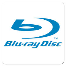 Blu-ray Disc, Blue on White Gloss, Roll of 1,000 Stickers