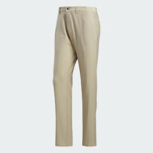 ADIDAS GOLF MEN'S 2021 ULTIMATE365 CLASSIC PANTS RAW GOLD BEIGE W42/L32 20839