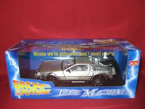 1:18 Back To The Future Time Machine DMC Delorean Marty McFly Sunstar BTTF 2