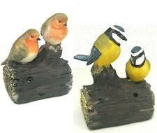 Westwoods Battery Operated Motion Sensor Pair Of Twettring Birds Garden Ornament