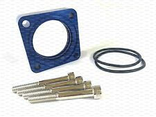 BLUE Throttle Body Spacer for 1991-1998 Nissan 240SX 2.4L