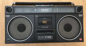 Sharp GF-9090 Radio-Kassettenrecorder | Sharp GF-9090 Ghettoblaster / Boombox