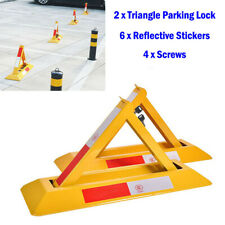 Parking security barrier car caravan drive storage post folding lock pole house