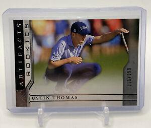 2021 Upper Deck Artifacts Golf Rookies JUSTIN THOMAS RC /199 SP True Rookie Card