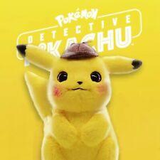 Stofftier Detektiv Pikachu Pokemon Plüsch Plüschtiere Kuscheltier Figur Film Neu