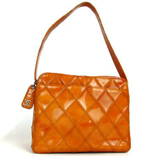 Authentic CHANEL 6167848 Bicolore One Shoulder Bag Patent leather[Used]
