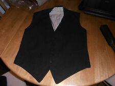 "Rare 1921 Ranken & Co  Bespoke Grey Morning  Dress Waistcoat Sz 36"""