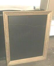Large gold chalkboard Framed 24x30 vintage flower frame art wall menu boutique