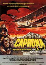 Caprona 2. Teil - Menschen, die die Zeit vergaß ORIGINAL A1 Kinoplakat D McClure
