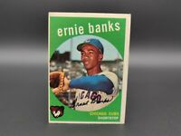 ⚾🔥1959 ERNIE BANKS Topps Chicago Cubs #350  🔥⚾