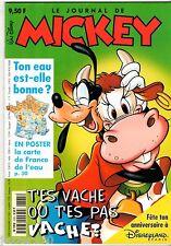 LE JOURNAL DE MICKEY n°2385 ¤ 1998 ¤ AVEC LE POSTER ET LES FICHES