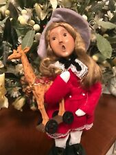Buyers Choice Carolers, 1999 Child With Toy, Mint Condition