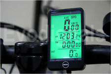 Evodigitals Wireless Bicycle Cycle Computer Bike Speedo Speedometer Touch