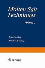 Molten Salt Techniques : Volume 2 (2014, Paperback)