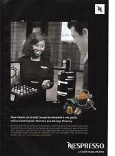 Publicité 2010 NESPRESSO le café corps et ame n°42