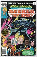 Marvel Premiere #41 (04/1978) Comics 1st App Seeker 3000!