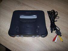Nintendo N64 Spielekonsole mit Original Fernsehkabel !