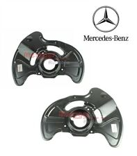 2X FRONT BRAKE DISC DUST COVER SPLASH GUARD FOR MERCEDES C-CLASS W203 S203 CL203