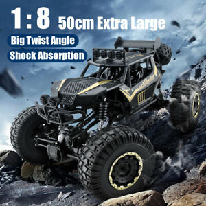 50CM 4WD RC Cars Monster Truck Off-Road Vehicle 2.4G Remote Control Crawler