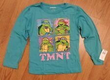 NEW Teenage Mutant Ninja Turtles TMNT 5T Teal Turquoise Long Sleeve T-shirt