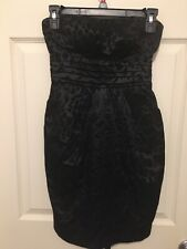 Black Strapless Cocktail Dress Size 5