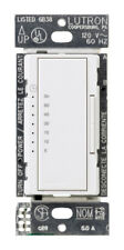 Lutron  Indoor  In Wall Countdown Timer  3 amps 120 volts White