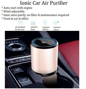 USB desktop portable Car air Purifier sterilizer disinfect Ionizer odour Remove