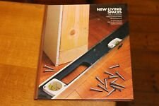 New Living Spaces Time Life Home Repair Improvement DIY Design HB Book