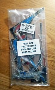 Bally Eight Ball Deluxe Pinball Machine Complete Plastic set with Key FOB