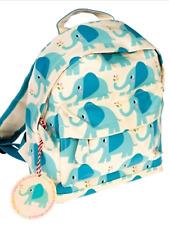 Elvis elephant kids rucksack boys school picnic backpack Nursery lunch bag book