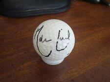 MARTIN LAIRD PGA SIGNED GOLF BALL w COA