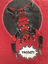 Deadpool Tacos T-Shirt - Men's L - Loot Crate Exclusive