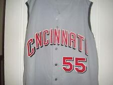 2002-03 SHAWN ESTES Cincinnati Reds Game Used Worn Jersey