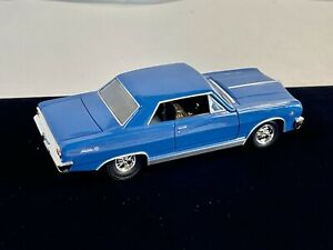 1:32 1965 Blue Chevy Mailbu Die Cast - Nice Condition