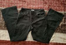Womens Jones New York Sport Stretch Black Jeans Size 6