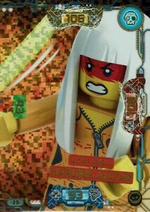 Lego ninjago Series 5 TCG Trading Cards Card No. 29 Ultra Duel Harumis Avatar