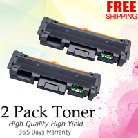 2 Pack MLT-D118L Toner Cartridge For Samsung 118 Xpress M3065FW M3015DW Printer